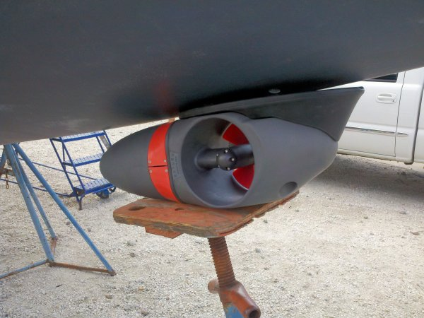 Installing Bow Thruster