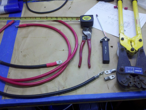 Making new battery cables